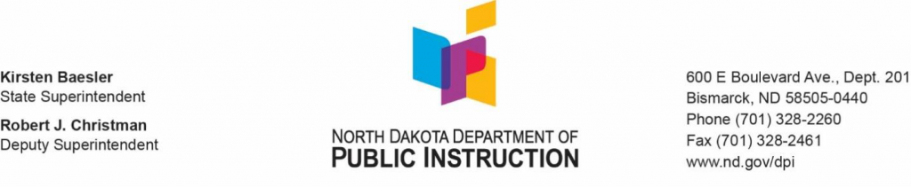 ND Public Instruction logo