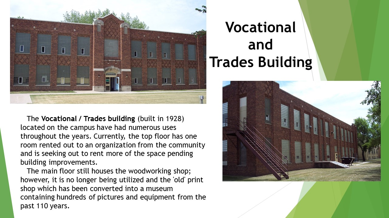 Vocational & Trades Bldg