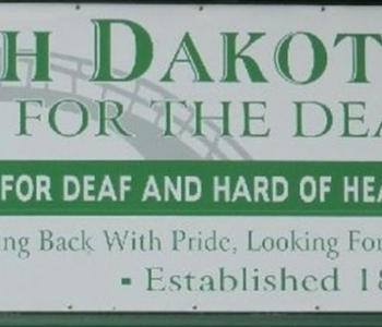 Front Sign for North Dakota School for the Deaf/Resource Center